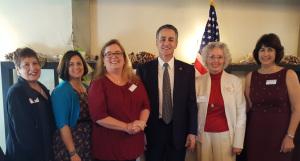 SVARW Executive Officers for 2017 with Santa Clara County Supervisor Mike Wasserman